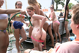 College Orgy Car Wash collegerules, college rules