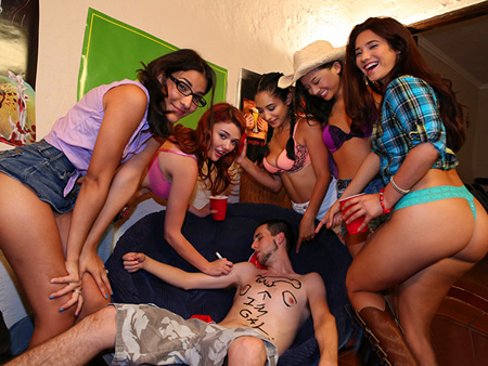 College Orgy!