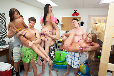 Indoor Pool Party collegerules, college rules