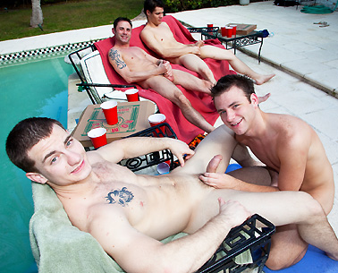 Group Sex By The Pool exbf