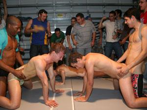 Weiner Wrestling hazehim, haze him