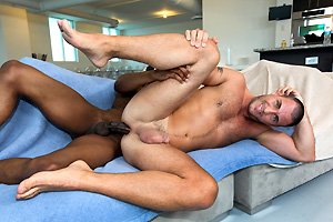 Big Black Dick For White Guy! itsgonnahurt its gonna hurt gay sex videos