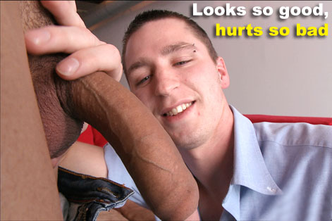 Gay Big Dick : Officially Cracked In Half!