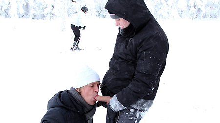 Anal On The Slopes! outinpublic out in public places gay sex videos