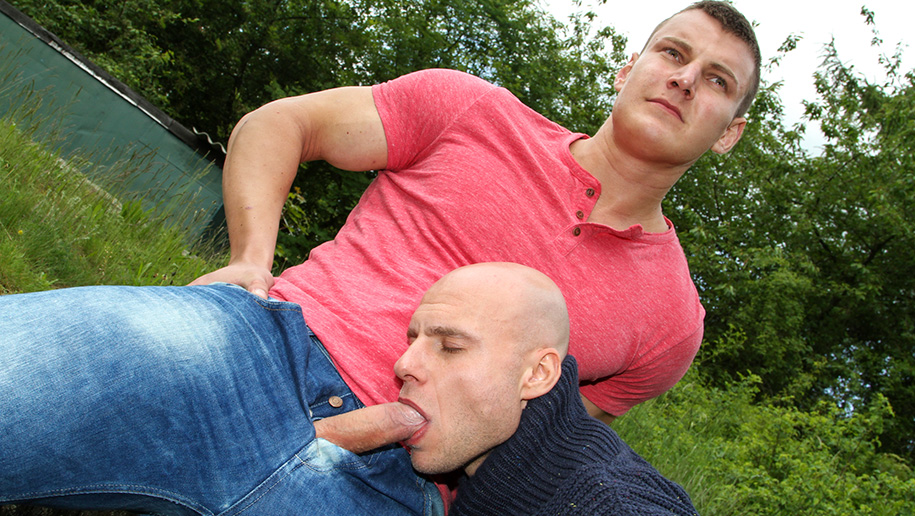Public Anal Sex In Europe outinpublic out in public places gay sex videos