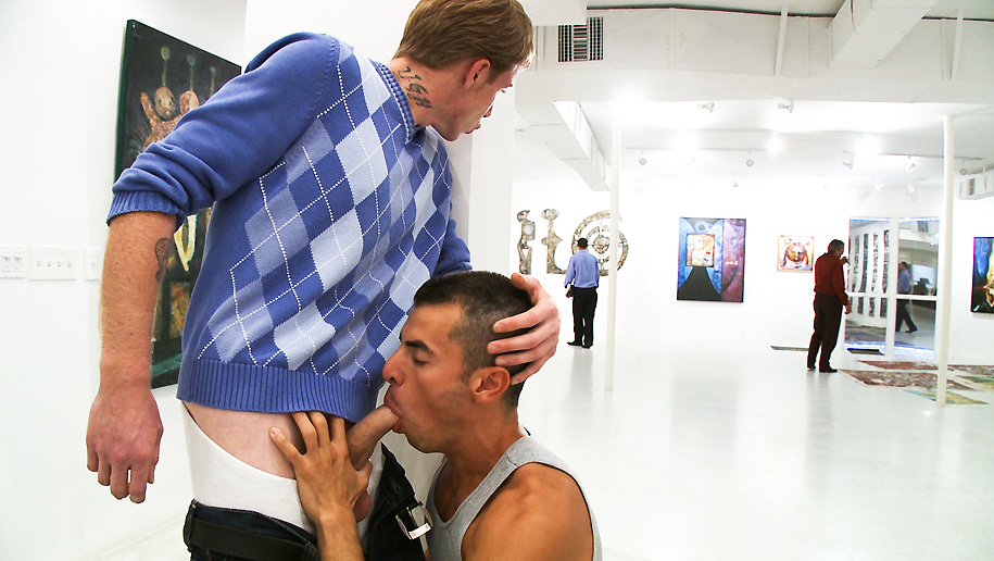 Art Gallery Fucking outinpublic out in public places gay sex videos