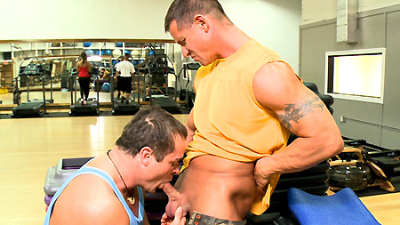 Two Hot Gym Guys Fuck Hard outinpublic out in public places gay sex videos