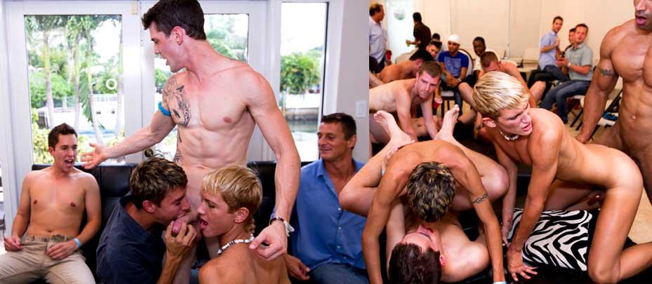 Huge Gay Sausage Party 14