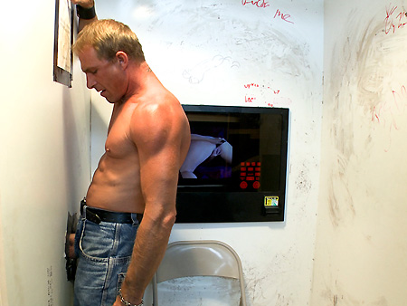 Troy Takes A Spin At The Gloryhole unglory hole gay sex videos