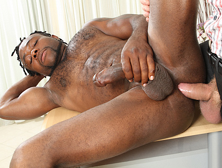 Gay Interracial Anal Sex!